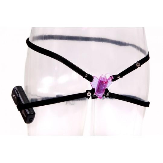Фиолетовая бабочка для клитора (цвет -фиолетовый) (1001) фото 3