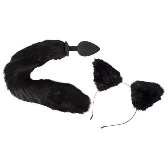 Игровой набор Pet Play Plug   Ears (цвет -черный) (100211) фото 1