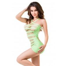 Обворожительное платье-сетка Joli Venice (цвет -зеленый)  (размер -L-XL) (101051)