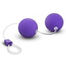 Фиолетовые вагинальные шарики Bonne Beads (цвет -фиолетовый) (101155)