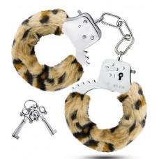 Леопардовые игровые наручники Cuffs (цвет -леопард) (101170)