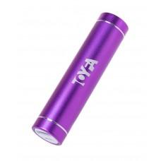 Портативное зарядное устройство A-toys 2400 mAh microUSB (цвет -фиолетовый) (101180)