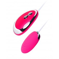 Розовое виброяйцо A-Toys - 6,5 см. (цвет -розовый) (101181)