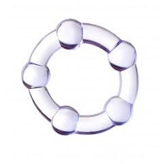 Фиолетовое эрекционное кольцо A-Toys (цвет -фиолетовый) (101183)