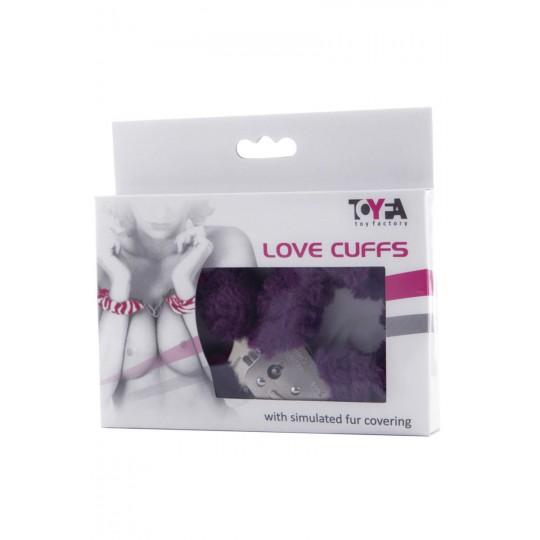Фиолетовые наручники (цвет -фиолетовый) (10151) фото 2