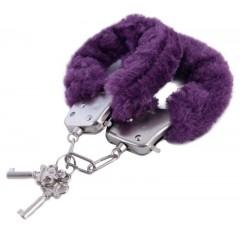 Фиолетовые наручники (цвет -фиолетовый) (10151)