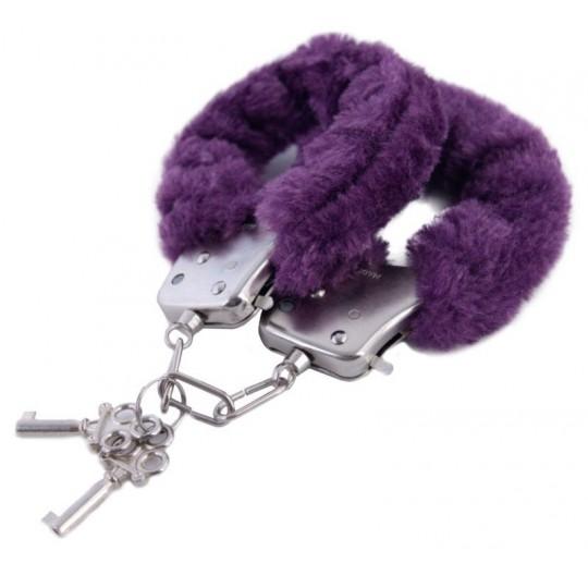 Фиолетовые наручники (цвет -фиолетовый) (10151) фото 1