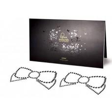 Черные пэстисы Mimi Bow в виде бантиков (цвет -черный) (101574)