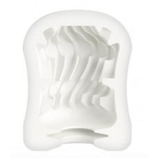 Компактный мастурбатор MasturbaTIN Curly Curtis (цвет -белый) (103095)