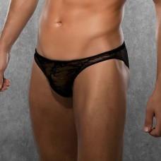 Кружевные мужские слипы Doreanse (цвет -черный)  (размер -XL) (103176)