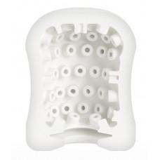 Компактный мастурбатор MasturbaTIN Dotty Donny (цвет -белый) (104918)