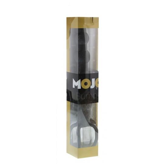 Черная насадка на пенис для двойной стимуляции Mojo BlackJack - 15 см. (цвет -черный) (10727) фото 2