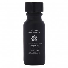Мужское парфюмерное масло с феромонами PURE INSTINCT - 15 мл.(107288)