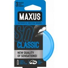 Классические презервативы в железном кейсе MAXUS Classic - 3 шт.(107519)