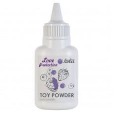 Пудра для игрушек Love Protection с ароматом лесных ягод - 15 гр.(107686)