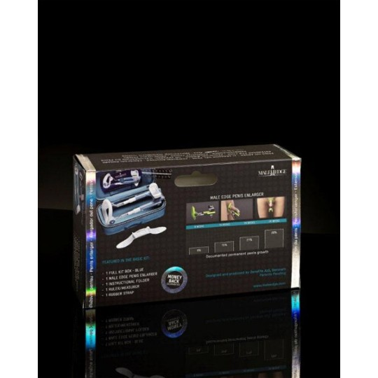 Устройство для увеличения пениса Male Edge Basic (цвет -голубой) (10808) фото 2