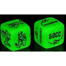 Неоновые кубики  Я тебя хочу  (цвет -зеленый) (108758)