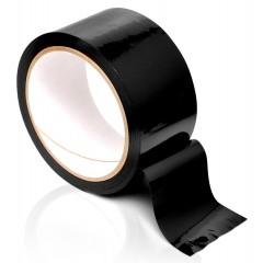 Черная самоклеящаяся лента для связывания Pleasure Tape - 10,6 м. (цвет -черный) (10906)