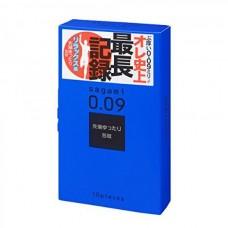 Утолщенные презервативы Sagami 0.09 Natural - 10 шт.(110825)