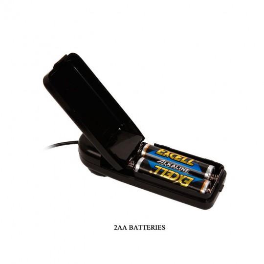 Вибромассажер-реалистик на присоске из реалистичного материала - 26,5 см. (цвет -телесный) (11175) фото 3