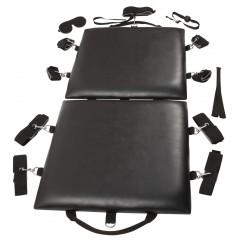 Стол-площадка для бдсм-игр и фиксации Bondage Board (цвет -черный) (117625)