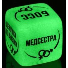 Неоновый кубик  Ролевые игры  (цвет -зеленый) (121881)