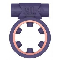 Фиолетовое эрекционное виброкольцо Magic Ring (цвет -фиолетовый) (133751)