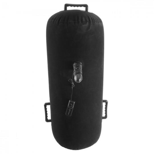 Надувная подушка с виброфаллосом Inflatable Luv Log (цвет -черный) (14005) фото 6