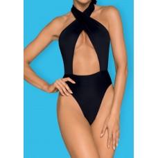 Слитный женский купальник Acantila (цвет -черный)  (размер -S) (171263)