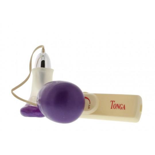 Вакуумный стимулятор клитора Vibrating Clit Massager (цвет -фиолетовый) (997) фото 1